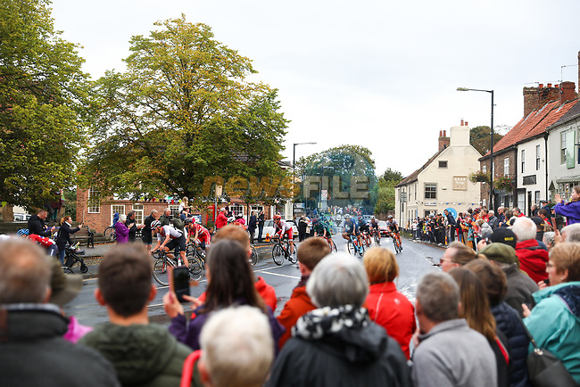 Action from the Men U23 Road Race of the UCI World Championships 2019 running 186.9km from Doncaster to Harrogate, England. 27th September 2019.<br /> Picture: Alex Whitehead/SWpix.com | Cyclefile<br /> <br /> All photos usage must carry mandatory copyright credit (© Cyclefile | Alex Whitehead/SWpix.com)