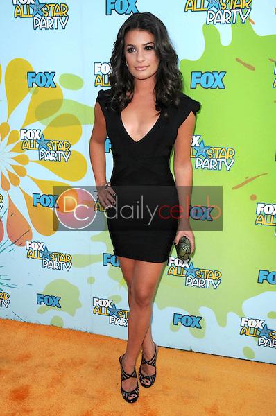 Lea Michele<br />at FOX's 2009 All Star Party. Lanham Huntington Hotel, Pasadena, CA. 08-06-09<br />Dave Edwards/DailyCeleb.com 818-249-4998