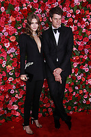 NEW YORK, NY - JUNE 10:  Grace Elizabeth and Wes Gordon  at the 72nd Annual Tony Awards at Radio City Music Hall in New York City on June 10, 2018.