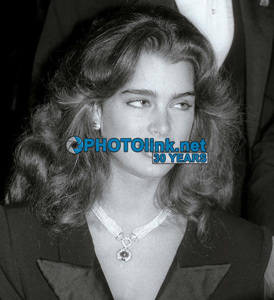 Brooke Shields 1984<br /> Photo By Jesse Nash/PHOTOlink
