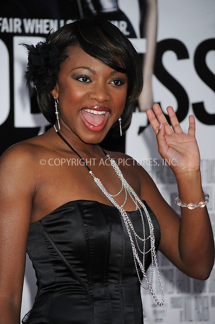 WWW.ACEPIXS.COM . . . . . ....April 23 2009, New York City....Naturi Naughton arriving at the premiere of 'Obsessed' presented by The Cinema Society & MCM at the School of Visual Arts on April 23, 2009 in New York City.....Please byline: KRISTIN CALLAHAN - ACEPIXS.COM.. . . . . . ..Ace Pictures, Inc:  ..tel: (212) 243 8787 or (646) 769 0430..e-mail: info@acepixs.com..web: http://www.acepixs.com