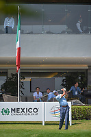 Matt Kuchar (USA) watches his tee shot on 10 during round 1 of the World Golf Championships, Mexico, Club De Golf Chapultepec, Mexico City, Mexico. 3/1/2018.<br /> Picture: Golffile | Ken Murray<br /> <br /> <br /> All photo usage must carry mandatory copyright credit (&copy; Golffile | Ken Murray)