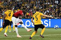 18-09-2018 Berna Football Calcio Champions League BSC Young Boys - Manchester United  <br /> Paul Pogba (Manchester) Gol 0:1 <br /> (Urs Lindt/freshfocus/Insidefoto)