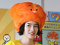 Japanese actress Non, formerly Rena Nonen, makes an appearance at Kiddy Land's launch event for the character that she designed. Tokyo, Japan, 20 Nov 2016. (Photo by Motoo Naka/AFLO)