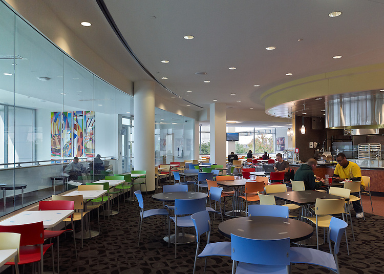 Cleveland State University Student Center | Gwathmey Siegel & Associates Architects and Braun Steidl Architects