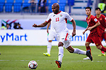 Khalil Baniateyah of Jordan in action during the AFC Asian Cup UAE 2019 Round of 16 match between Jordan (JOR) and Vietnam (VIE) at Al Maktoum Stadium on 20 January 2019 in Dubai, United Arab Emirates. Photo by Marcio Rodrigo Machado / Power Sport Images