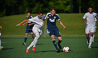 Westfield, IN. - June, 27, 2014: US Soccer U-15/16 Development Academy Showcase Mixed ages in Grand Park.