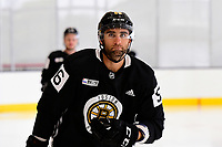 September 15, 2017: Boston Bruins left defenseman Tommy Cross (56) skates during the Boston Bruins training camp held at Warrior Ice Arena in Brighton, Massachusetts. Eric Canha/CSM