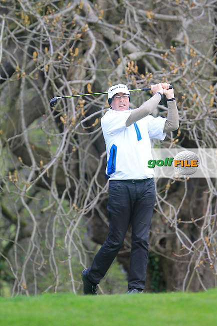 Fank Flynn (Laytown and Bettysown) during the Headfort Scratch Cup, Kells, Co Meath 21/4/13.Picture: Thos Caffrey www.golffile.ie...