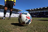 Orlando, Florida - Wednesday January 17, 2018: 2017 adidas MLS Nativo. Match Day 3 of the 2018 adidas MLS Player Combine was held Orlando City Stadium.