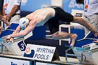 Andrii Govorov UKR<br /> Men's 50m butterfly heats<br /> Swimming<br /> 15th FINA World Aquatics Championships<br /> Barcelona 19 July - 4 August 2013<br /> Palau Sant Jordi, Barcelona (Spain) 28/07/2013 <br /> © Giorgio Perottino / Deepbluemedia.eu / Insidefoto
