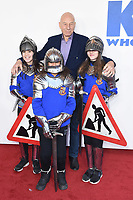 "Sir Patrick Stewart<br /> arriving for the premiere of ""The Kiid who would be King"" at the Odeon Luxe cinema, Leicester Square, London<br /> <br /> ©Ash Knotek  D3476  03/02/2019"