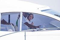 Queen Sofia  on board of Somni
