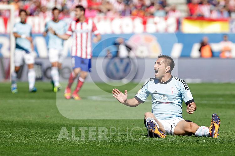 Celta de Vigo´s Charles (R) during La Liga 2013/14 match. October 06, 2013. (ALTERPHOTOS/Victor Blanco)