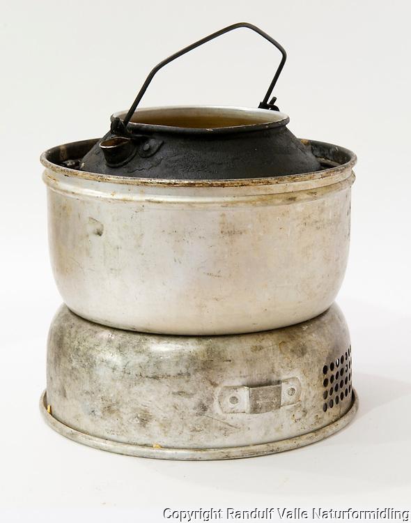 Velbrukt Trangia stormkjøkken. ---- Spirit burner kit.