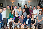 Just say 39<br /> ---------------<br /> Aiden Costelloe, Miltown, seated centre, had great craic celebrating his 40th birthday last Saturday night in No 4, the Square, Tralee along with many friends and family.