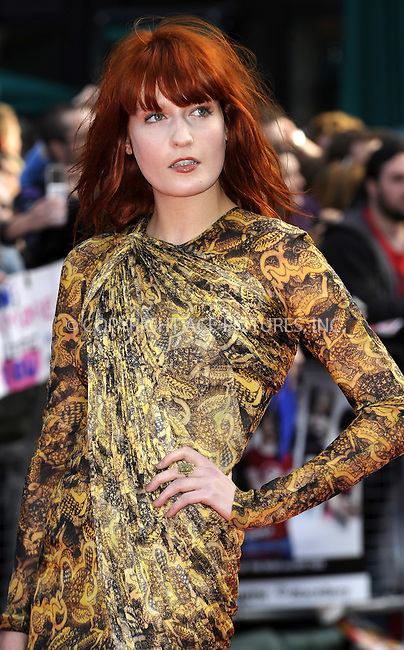 WWW.ACEPIXS.COM . . . . .  ..... . . . . US SALES ONLY . . . . .....August 18 2010, London....Florence Welch arriving at the 'Scott Pilgrim Vs The World' European film premiere at The Empire cinema, Leicester Square on August 18, 2010 in London, England.....Please byline: FAMOUS-ACE PICTURES... . . . .  ....Ace Pictures, Inc:  ..Tel: (212) 243-8787..e-mail: info@acepixs.com..web: http://www.acepixs.com