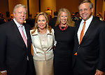 Rich and Nancy Kinder with Lisa and Will Mathis at the City of Houston's Birthday Bash at the George R. Brown Convention Center Tuesday Aug. 19,2008.(Dave Rossman/For the Chronicle)