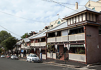 14 SEP 2009 - SYDNEY, AUS - Housing in The Rocks (PHOTO (C) NIGEL FARROW)