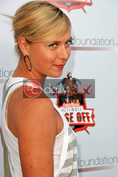 Maria Sharapova<br />