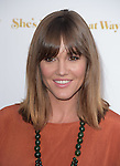 Erinn Hayes attends The Lionsgate Premiere of She's Funny That Way held at The Harmony Gold Theatre  in Los Angeles, California on August 19,2015                                                                               © 2015 Hollywood Press Agency