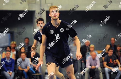 2014-08-30 / Volleybal / seizoen 2014-2015 / Topvolley Antwerpen / Martijn Colson<br /><br />Foto: Mpics.be