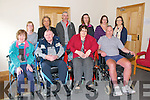 Listowel-North Kerry Branch of the MS Society: Part of the group who attend physio at the Irish Wheelchair centre in Listowel on Maondays...Front: Helen Lyons, Tom Kelly, Kyra Walsh, Gary Carter...Back : Valerie Kelly, Mary Doyle, Chairperson MS Society Listowel, Tom Costello, Claire Healy, Karen carter & Grainne O'Callaghan, Physiotherapist.