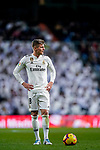 Toni Kroos of Real Madrid looks on during the La Liga 2018-19 match between Real Madrid and Rayo Vallencano at Estadio Santiago Bernabeu on December 15 2018 in Madrid, Spain. Photo by Diego Souto / Power Sport Images