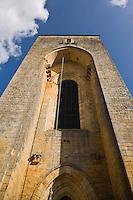 Europe/France/Aquitaine/24/Dordogne/Périgord Noir/Saint-Amand-de-Coly: L'abbaye de Saint-Amand-de-Coly- la tour -donjon