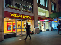 A branch of Wells Fargo in New York on Tuesday, December 13, 2016. (© Richard B. Levine)