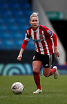 Sophie Barker of Sheffield Utd during the The FA Women's Championship match at the Proact Stadium, Chesterfield. Picture date: 12th January 2020. Picture credit should read: Simon Bellis/Sportimage