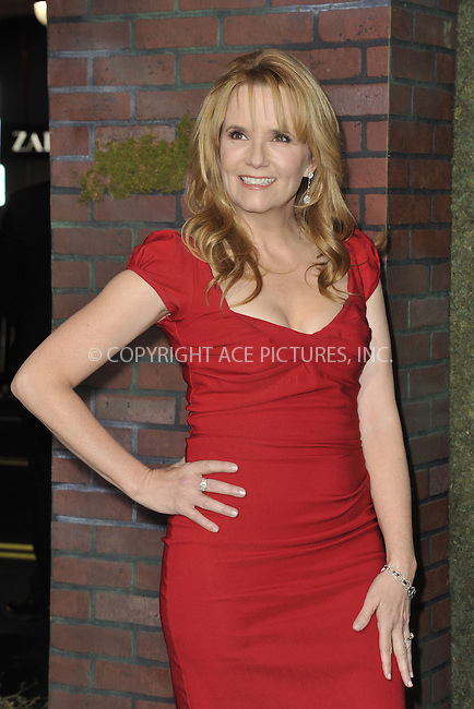 WWW.ACEPIXS.COM....February 6 2013, LA....Lea Thompson arriving at the Los Angeles premiere of 'Beautiful Creatures' at TCL Chinese Theatre on February 6, 2013 in Hollywood, California.....By Line: Peter West/ACE Pictures......ACE Pictures, Inc...tel: 646 769 0430..Email: info@acepixs.com..www.acepixs.com