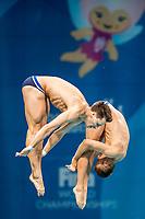 HAUSDING Patrick, KLEIN Sascha GER<br /> Men's 10m Synchro Platform Preliminary<br /> Diving <br /> Day 01 14/07/2017 <br /> XVII FINA World Championships Aquatics<br /> Duna Arena Budapest Hungary July 15th - 30th 2017 <br /> Photo @A.Masini/Deepbluemedia/Insidefoto