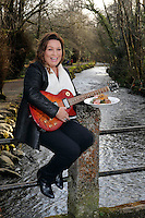 FREE PHOTO: 25-3-2015: Tuesday, 24th March 2015:   Former dragon Norah Casey, pictured near the 'half moon' field in the Killarney House Demesne for the launch of the Killarney Festival of Music &amp; Food which will take place over the weekend of June 27-28.<br /> Photo by Don MacMonagle<br /> <br /> repro free Killarney Festival of Musice &amp; Food<br /> More info: Nicola@nicolawatkinspr.com<br /> <br /> Press release:, <br /> It was announced today that eight of Ireland&rsquo;s finest Michelin Star and celebrity chefs will be cooking up a storm in the Food &amp; Wine Magazine Village hosted by Norah Casey, at the inaugural boutique festival at Killarney House Demesne on 27 &amp; 28 June.<br /> Derry Clarke (L&rsquo;Ecrivain, Dublin), Ross Lewis (Chapter One, Dublin) and JP McMahon (EatGalway Restaurant Group, which comprises Aniar, Cava Boedga, and Eat Gastropub), will join Clodagh McKenna (Clodagh&rsquo;s Kitchen, Dublin), Sunil Ghai  (Ananda Restaurant), Noel Enright (The Lake Hotel, Killarney); Paul Treyvaud (Treyvauds, Killarney); Catherine Fulvio (Ballyknocken House) in the Chef&rsquo;s Kitchen where they will show food lovers how to prepare delicious mouth-watering dishes using locally produced, seasonal ingredients from Kerry .<br /> The Killarney Festival Food Village will be an extensive showcase of wine and food not only for the region of Kerry but for Ireland as a whole.   It will feature well established restaurants from around Ireland, local artisan food producers including Ring of Kerry Lamb, Ballinskelligs Duck, Hulberts Fine Food, Lizzy's Little Kitchen, O'Brien&rsquo;s Farmhouse Cheese, Sasta Sausages, Killarney Toffee,  Valentia Island Dairy and Ballyhar Farm Produce including organic Kerry Rose Veal &amp; Cow's Milk.<br /> The Food &amp; Wine Village will also feature a Wine Bar, Craft Beer Lounge and Cocktail Bar.  A variety of food vendors offering cuisine from around the world will also be on site to cater for up to 20,000 festival goers over the weekend.<br /> Norah Casey said &ldquo;As a lover of both great food and music, I&rsquo;m very excited about th