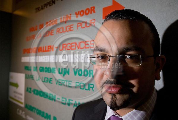 BRUSSELS - BELGIUM - 11 JANUARY 2008 --  Doctor Abdellatif RIFFIA. Photo: Erik Luntang/EUP-IMAGES/