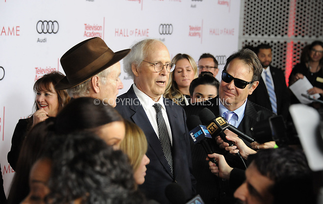 www.acepixs.com<br /> <br /> November 15 2017, LA<br /> <br /> (L=R) Bill Murray, Chevy Chase and Dan Aykroyd arriving at the Television Academy's 24th Hall of Fame Ceremony at the Saban Media Center on November 15, 2017 in Los Angeles, California.<br /> <br /> By Line: Peter West/ACE Pictures<br /> <br /> <br /> ACE Pictures Inc<br /> Tel: 6467670430<br /> Email: info@acepixs.com<br /> www.acepixs.com