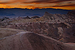 Winter View, Zabriskie Point, Death Valley, California.  Available in sizes up to 30 x 45 inches.