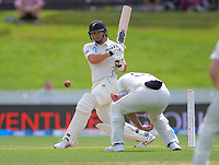 NZ's Ross Taylor bats during day five of the international cricket 2nd test match between NZ Black Caps and England at Seddon Park in Hamilton, New Zealand on Tuesday, 3 December 2019. Photo: Dave Lintott / lintottphoto.co.nz