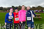 participants who took part in the Kerry's Eye Valentines Weekend 10 mile road race on Sunday were Maria Moynihan, Michelle O'Sullivan, Liz O'Donoghue and David Hughes