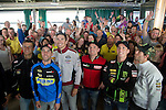 Motul TT Assen<br /> Preevent : Meet&amp;Greet in Paddock Restaurant with Pol Espargaro, Cal Cruchtlow, Scott Redding, Sam lowes,Jasper Iwema and Jorel Boerboom