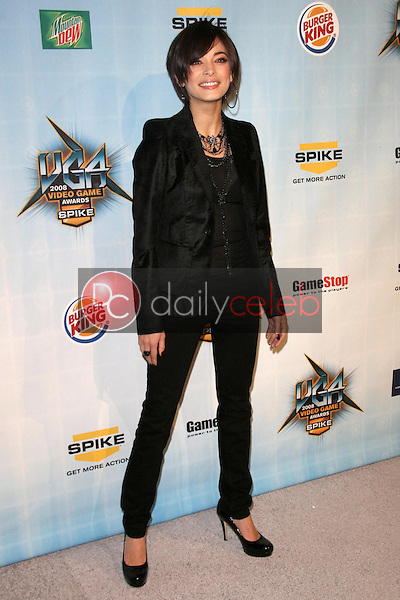 Kristin Kreuk <br /> at Spike TV's 2008 'Video Game Awards'. Sony Pictures Studios, Culver City, CA. 12-14-08<br /> Dave Edwards/DailyCeleb.com 818-249-4998