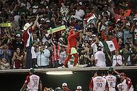 Acciones, durante el segundo partido semifinal de la Serie del Caribe en el nuevo Estadio de  los Tomateros en Culiacan, Mexico, Lunes 6 Feb 2017. Foto: AP/Luis Gutierrez