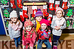 CHRISTMAS PLAY: Mrs. O'Donoghue's Junior Infants Bronagh Griffin, Valerie Gleasure, Kate O'Shea, Alice Kennedy, Phoebe Hussey  at Scoil Eoin, Balloonagh enjoying their Christmas play on Tuesday