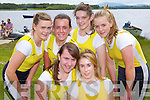 Muckross rowers who won the ladies junior VI at the Killarney Regatta on Sunday l-r:Alison Shaw, Shona O'Sullivan, back row: Aoife Cooper, Caoimhe Doyle, Roisin Rea and Kathleen Cremin ..