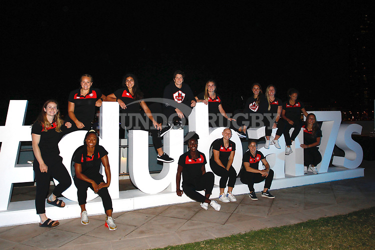 Canada Women Sevens The Sevens for HSBC World Rugby Sevens Series 2018, Dubai - UAE - Photos Martin Seras Lima