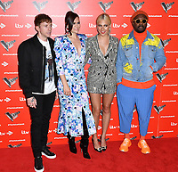 Danny Jones, Jessie J, Pixie Lott and will.i.am attend photocall to launch The Voice Kids, new ITV series of the children's talent show, at The RSA, London on June 06, 2019.<br /> CAP/JOR<br /> ©JOR/Capital Pictures