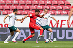 Claudio Pizarro (Werder Bremen #14), Ludwig Augustinsson (Werder Bremen #05)<br /> <br /> <br /> Sport: nphgm001: Fussball: 1. Bundesliga: Saison 19/20: 33. Spieltag: 1. FSV Mainz 05 vs SV Werder Bremen 20.06.2020<br /> <br /> Foto: gumzmedia/nordphoto/POOL <br /> <br /> DFL regulations prohibit any use of photographs as image sequences and/or quasi-video.<br /> EDITORIAL USE ONLY<br /> National and international News-Agencies OUT.