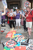 London - Saturday 21st June 2014. No More Austerity protest rally. <br /> <br /> <br /> Photo credit: Jeff Thomas - Jeff Thomas Photography - 07837 386244/07837 216676 - www.jaypics.photoshelter.com - thomastwotimes@live.co.uk