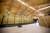 The Nimmo family barn batting cage is seen on Tuesday, June 21, 2011, in Cheyenne, Wyo. (Photo by James Brosher)