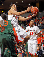 Virginia guard Malcolm Brogdon (15) during an NCAA basketball game Saturday Feb, 24, 2014 in Charlottesville, VA. Virginia defeated Miami 65-40.
